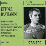 Ettore Bastianini recital 1954-1962